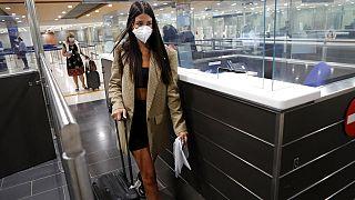 Αφίξεις στο αεροδρόμιο της Λάρνακας - φωτο αρχείου