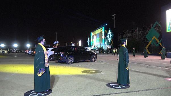 مشاهد احتفالات من البحرين