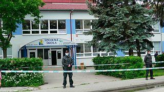En Slovaquie, un jeune homme s'en est pris à l'école de son enfance le 11 juin 2020