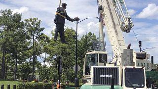 Richardson-Statue wird entfernt