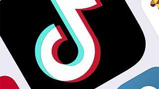 ARCHIVO - En esta foto del 25 de febrero de 2020 se muestra el icono de TikTok.