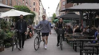 Nas ruas de Copenhaga já pouco lembra a Covid-19