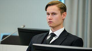 Philip Manshaus a été condamné à une peine de 21 ans de prison pour son attaque contre une mosquée, Oslo le 11 juin 2020
