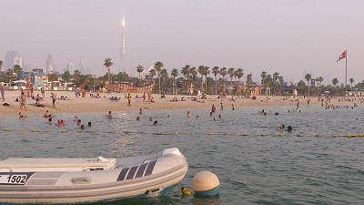 La Mer, Dubai's newest beachfront neighbourhood, offers hip restaurants, water sports and fun parks
