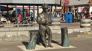 Baden-Powell sculpture on Poole Quay
