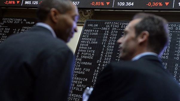 Wall Street sombre dans le rouge, les Bourses européennes dévissent