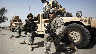 صورة أرشيفية لجنود أمريكيين في العراق