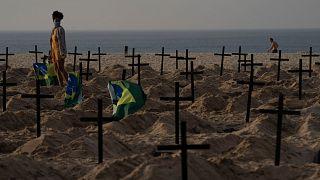 Brezilya'da Covid-19 vakaları