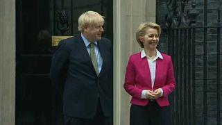 Premierminister Boris Johnson und EU-Kommissionspräsidentin Ursula von der Leyen