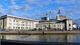 A bíróság épülete Hágában