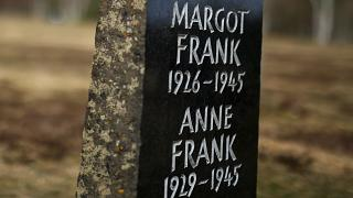 Anne Franks Grab