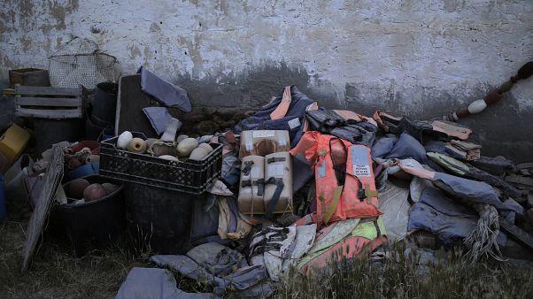 Botlarla binen göçmenlerden geriye kalanlar