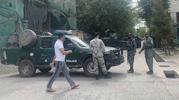 حمله به مسجدی در کابل
