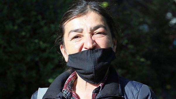 میسر ییلدیز، خبرنگار ترکیه که در آنکارا بازداشت شد