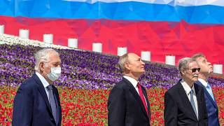 Putin was last seen out in public in the beginning of May