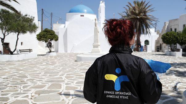 Las islas griegas preparan un turismo 'seguro' para los viajeros internacionales