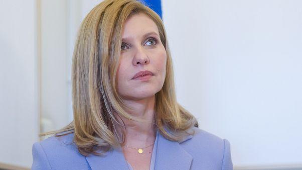 أولينا زيلينسكا زوجة الرئيس الأوكران
