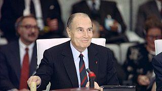 Eski Fransa Cumhurbaşkanı François Mitterand