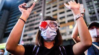 Гонконг: годовщина манифестаций против экстрадиции