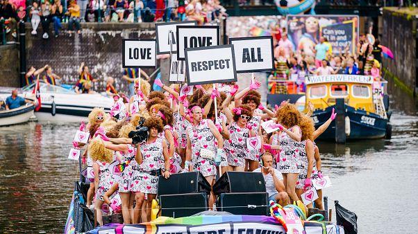 مسيرة للمثليين في هولندا