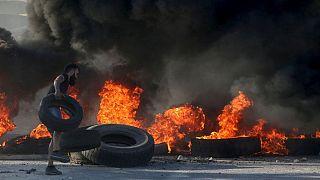 Полиция применила слезоточивый газ для разгона манифестации в Бейруте