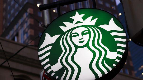 ABD'de Starbucks mağazası