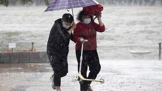 Çin'de aşırı yağışlar/Arşiv