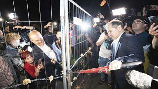 Jubel in Frankfurt (Oder): Polen öffnet Grenzen