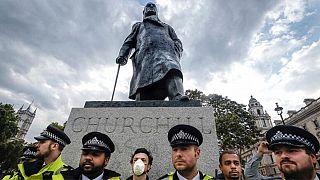 تندیس چرچیل در لندن