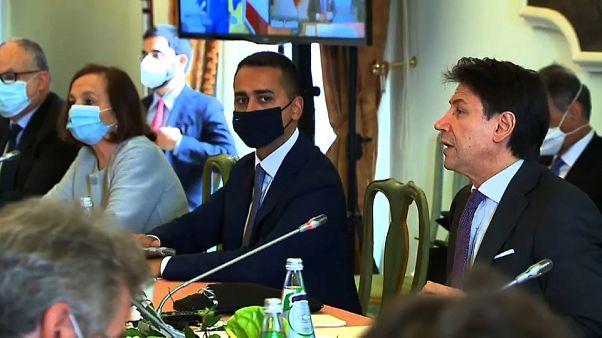 La imagen del primer ministro, Giuseppe Conte, ha salido reforzada por su gestión de la pandemia
