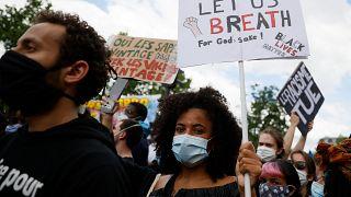من المظاهرات في باريس