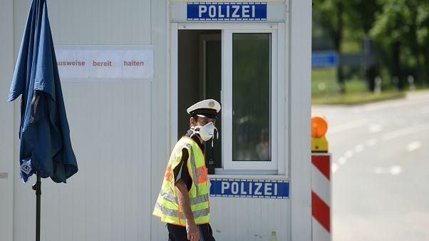 الحدود الألمانية النمساوية