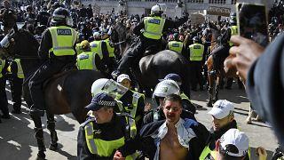 Londra'daki protestolar