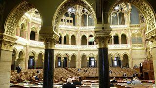 A parlament ülésterme