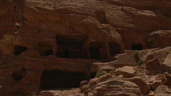 Petra: üres a romváros
