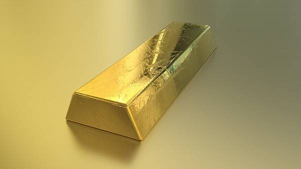Symbolfoto: Goldbarren