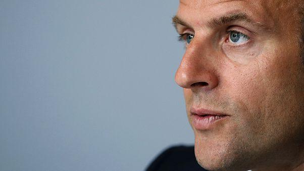 File photo, French President Emmanuel Macron