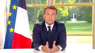 Президент Франции Макрон