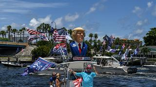 """Trumptilla"" in Fort Lauderdale, Florida"