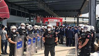 HDP'nin 'Demokrasi Yürüyüşü'ne polis müdahalesi