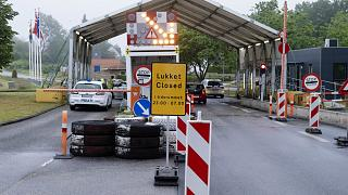Almanya - Danimarka sınır kapısı