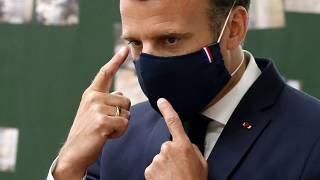 Emmanuel Macron - May 5 2020 file photo