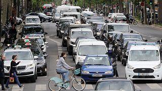 Les rues de la capitale française, au lendemain du déconfinement, le 12 mai 2020.