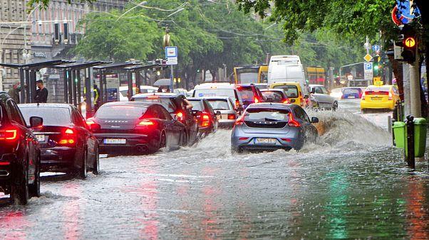 Budapest a vasárnapi eső után