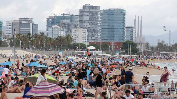 Strand von Bogatell, Barcelona