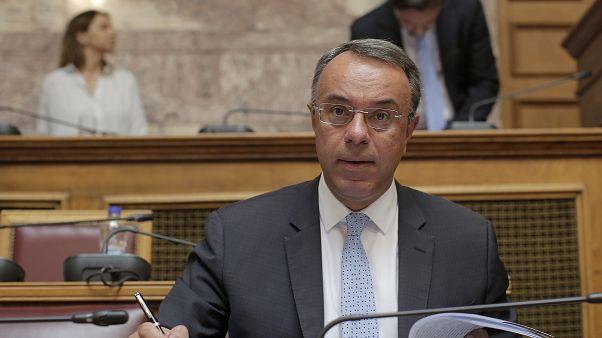 Ο Υπουργός Οικονομικών της Ελλάδας Χρήστος Σταϊκούρας