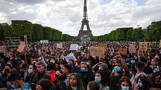 تظاهرات علیه نژادپرستی در پاریس