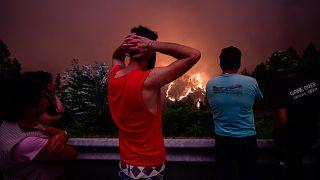 Portugal : poussés à l'exil par les incendies dus au changement climatique