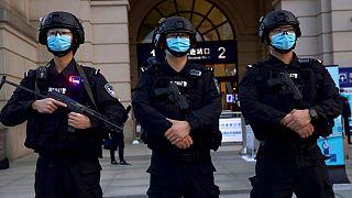 افسران پلیس چین (عکس تزئینی است)