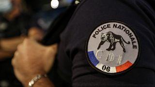 Логотип французской полиции.